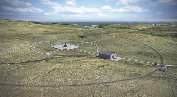 The planned location of the UK's first spaceport in Sutherland on Scotland's north coast (UK Space Agency/PA)