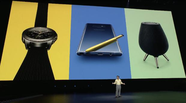 Samsung's latest products (Screenshot/Samsung)