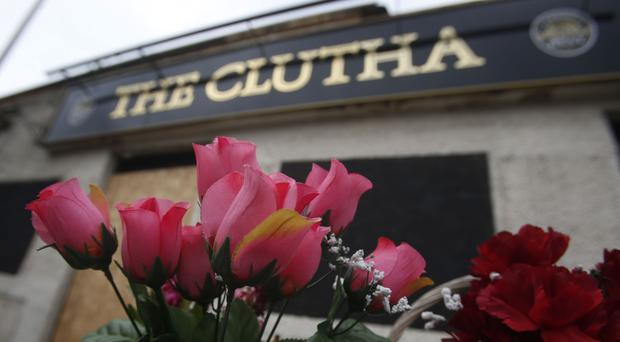 Ten people died when a helicopter crashed onto the roof of the Clutha bar in Glasgow (Danny Lawson/PA)