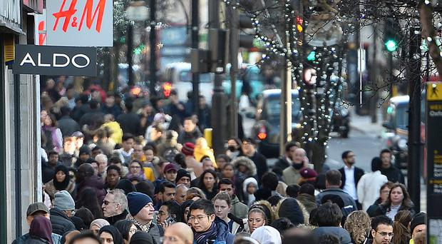 """Lewis Ludlow identified Oxford Street, usually busy with shoppers, as an """"ideal"""" target (John Stillwell/PA)"""