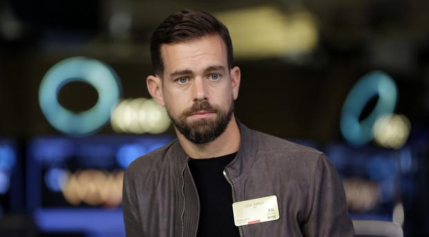 Jack Dorsey has come under fire over Twitter's rules (Richard Drew/AP)