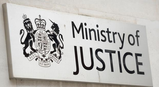 The Ministry of Justice has published a review of sport and physical education in the youth justice system (Kirsty O'Connor/PA)