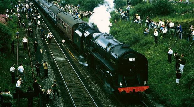The Fifteen Guinea Special on August 11 1968 (Alan Brown/National Railway Museum/PA)