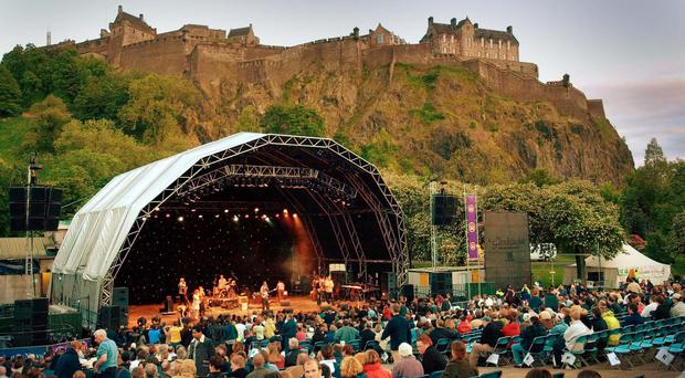 Princes Street Gardens regularly hosts concerts (Ben Curtis/PA)