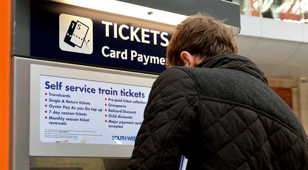 The annual increase in regulated rail fares will be announced on Wednesday (John Stillwell/PA)