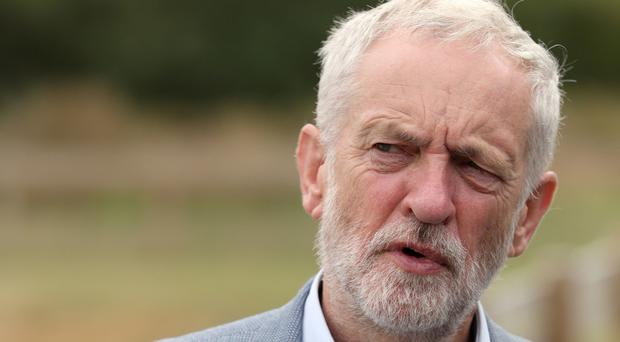 Jeremy Corbyn says he did lay a wreath (Aaron Chown/PA)