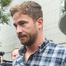 England rugby player Danny Cipriani leaves Jersey Magistrates' Court (Yui Mok/PA)