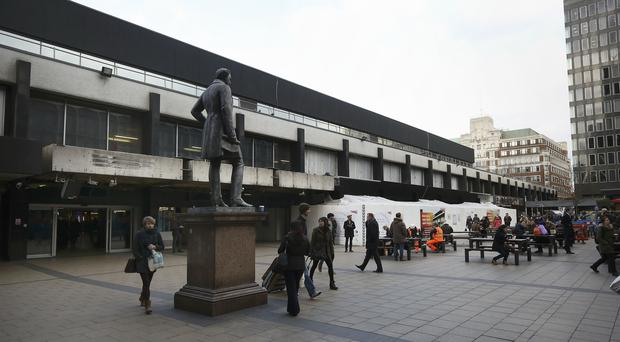 Euston station (Philip Toscano/PA)