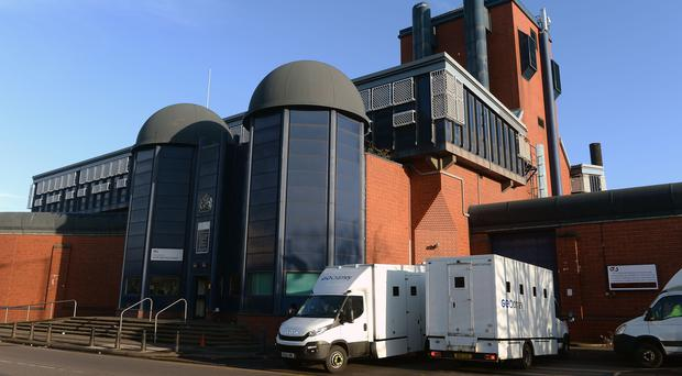 HMP Birmingham is being taken over by the MoJ for at least six months (Joe Giddens/PA)