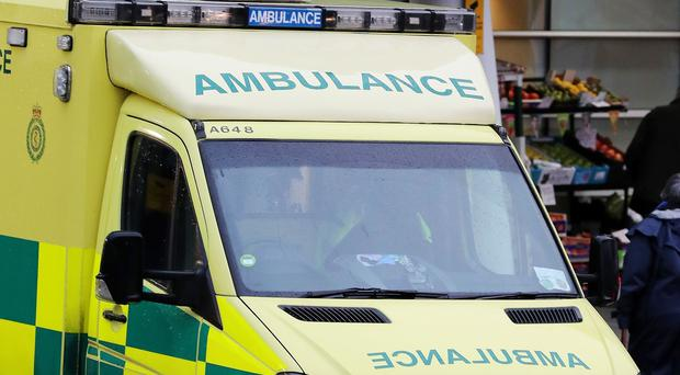 East Midlands Ambulance Service said they responded to a genuine emergency in Leicester (Peter Byrne/PA)
