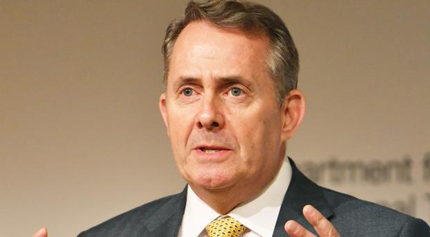 Liam Fox said our competitors were discussing wider global issues (John Stillwell/PA)