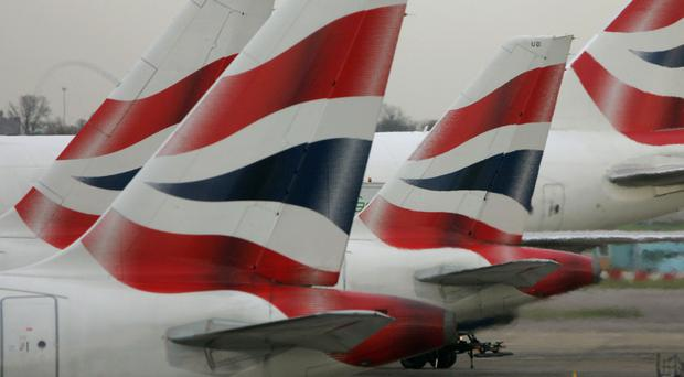 British Airways is suspending its London-Tehran flights (Tim Ockenden/PA)