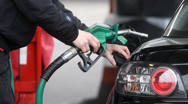 Fuel prices are at a four-year high (PA)