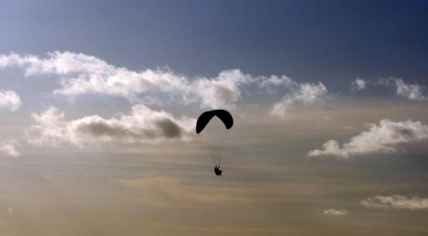 Police appeal after report of paraglider in difficulty in Co Antrim