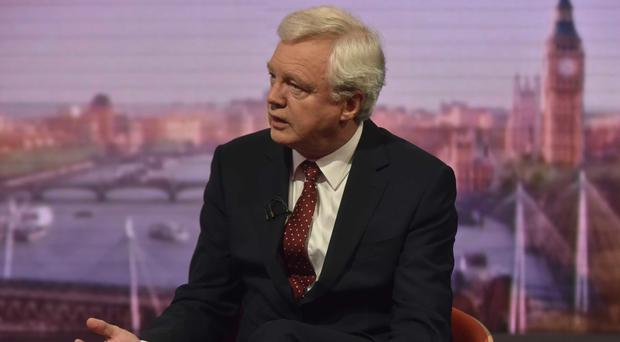 David Davis has criticised the Chequers proposal for Brexit (Jeff Overs/BBC/PA)