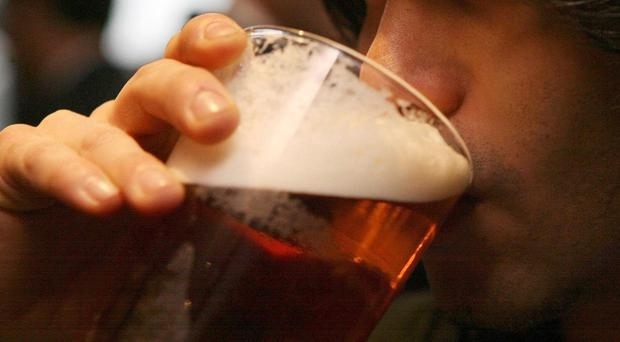 The survey found students in Belfast expect to pay more for a pint than the rest of the UK. (Johnny Green/PA)