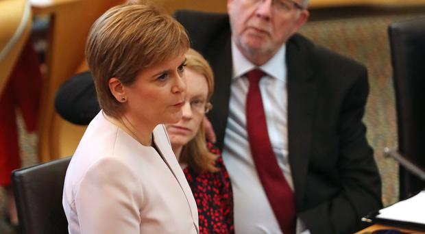 Nicola Sturgeon said the first payments will begin before Christmas, six months earlier than originally planned (Andrew Milligan/PA)
