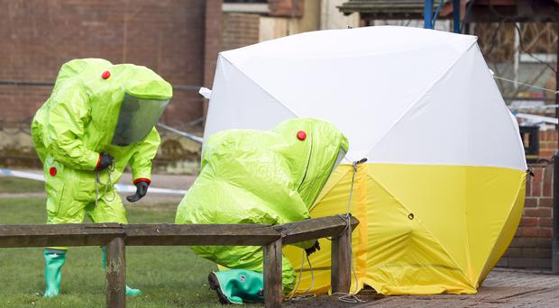 The Russian Embassy said it had sent more than 70 notes and letters to the Foreign Office, Home Office and police since the poisoning (Andrew Matthews/PA)