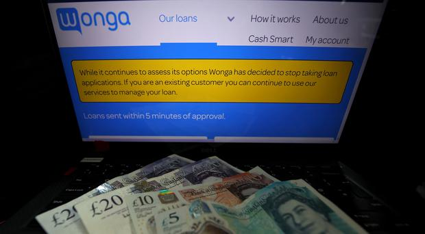 Wonga collapsed last week (PA)