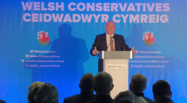 Paul Davies promised to provide a 'radical alternative' for the Welsh public (Adam Hale PA)