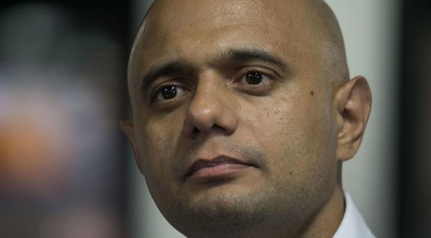 Home Secretary Sajid Javid. (Victoria Jones/PA)