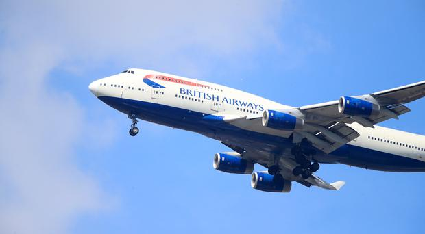 British Airways could be fined up to £500 million (Adam Davy/PA)