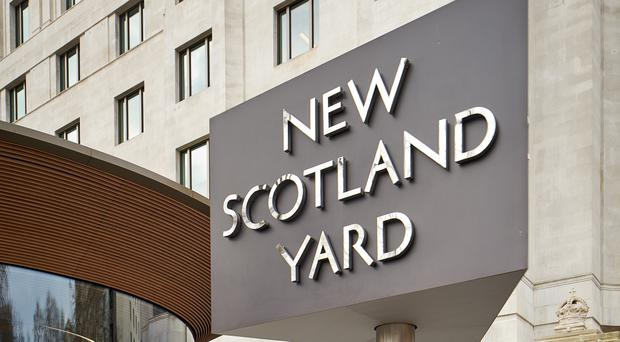 Metropolitan Police headquarters, New Scotland Yard on Victoria Embankment in London (Metropolitan Police/PA)
