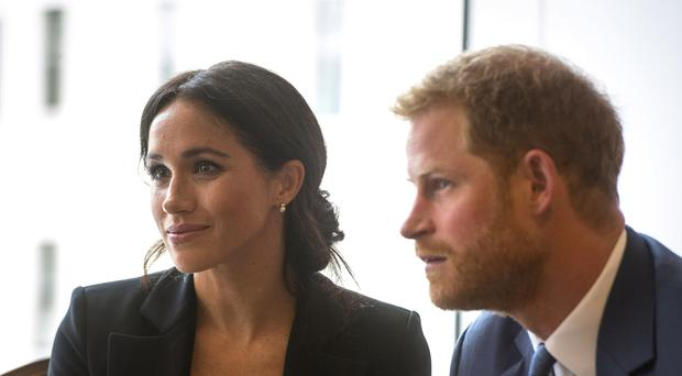 The Duke and Duchess of Sussex are set to embark on their first major overseas tour (Victoria Jones/PA)