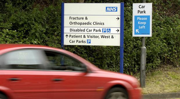 Campaigners want an end to hospital parking charges (Rui Vieira/PA)