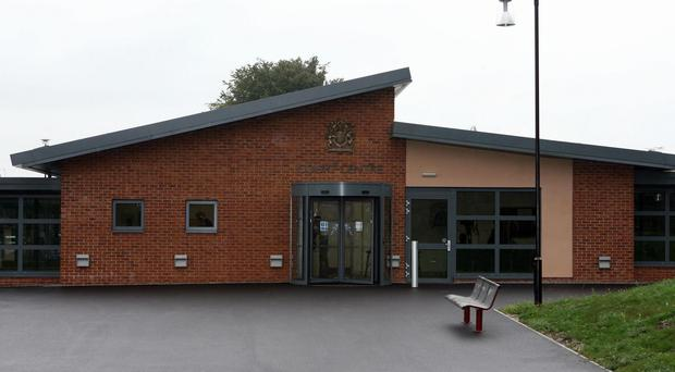 1A and 1B went on trial at the Court Martial Centre in Bulford, Wiltshire (Barry Batchelor/PA)