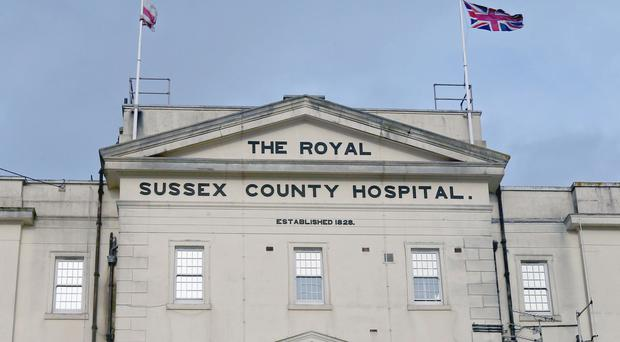 Brighton and Sussex University Hospitals NHS Trust immediately removed Flash from the Royal Sussex after Mrs Blaber died (Jonathan Brady/PA)