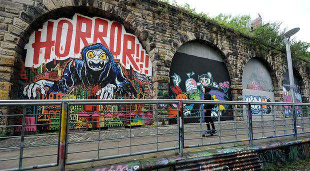 Network Rail has flogged its arches (PA)