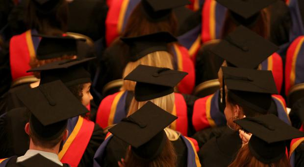 The report finds that despite the high fees, universities in the UK are still very attractive to international students (Chris Radburn/PA)