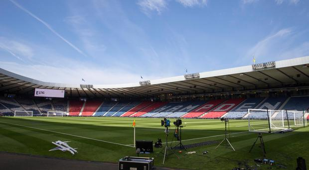 Hampden has been confirmed as the home of Scottish football (Jeff Holmes/PA)