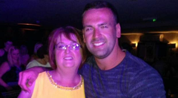 Gary More with his mother Angela (Police Scotland/PA)