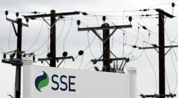 SSE said adjusted operating profit for the first five months of the financial year was knocked by about £190 million (PA)
