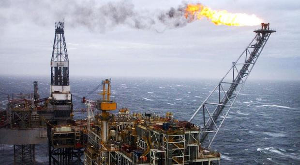 Oil and gas production in the North Sea is forecast to rise by 5% in 2018 (Danny Lawson/PA)