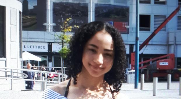 Undated handout photo issued by South Wales Police of Naomi Rees, 15, who was missing from her home in Rhydfelin, Pontypridd, since August 15 and believed to be with Tomas Baker, 20, from Tamworth, Staffordshire.