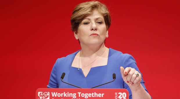 Emily Thornberry says Labour is unlikely to back Theresa May over a Brexit deal (Danny Lawson/PA)