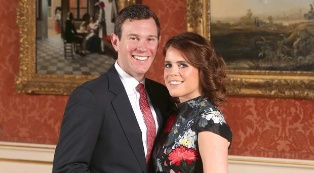 Princess Eugenie and Jack Brooksbank have released details of their October wedding (Jonathan Brady/PA)