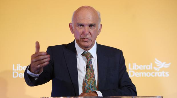 Sir Vince Cable says disillusioned Labour and Tory supporters can help to sink Brexit by joining the Lib Dems
