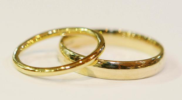 Under a consultation launched on Saturday the need for couples to separate or allege 'fault' to get a divorce would be taken away (Niall Carson/PA)