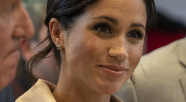 The Duchess of Sussex will carry out her first solo royal engagement later this month. Arthur Edwards/The Sun