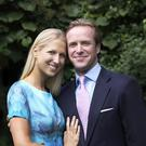 Lady Gabriella Windsor and Thomas Kingston (Alexandra Diez de Rivera/PA)