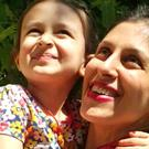 Handout file photo of Nazanin Zaghari-Ratcliffe with her daughter Gabriella during her temporary release from prison in Iran.
