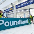 Poundland rebrands the former Poundworld store in East Kilbride (Poundland/PA)