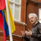 Julian Assange has been living in the Ecuadorian embassy since 2012 (Dominic Lipinski/PA)