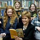 Nicola Sturgeon said the Famous Five books were among her favourites as a youngster (Colin Hattersley/PA)