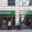 A branch of Lloyd's bank in the City of London (PA)