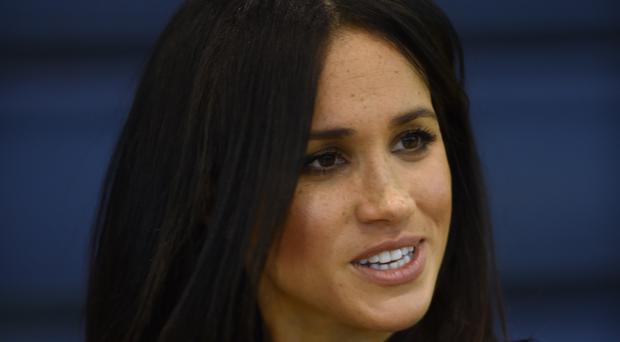 The Duchess of Sussex will undertake her first solo engagement since joining the royal family (Eddie Mulholland/Daily Telegraph/PA)